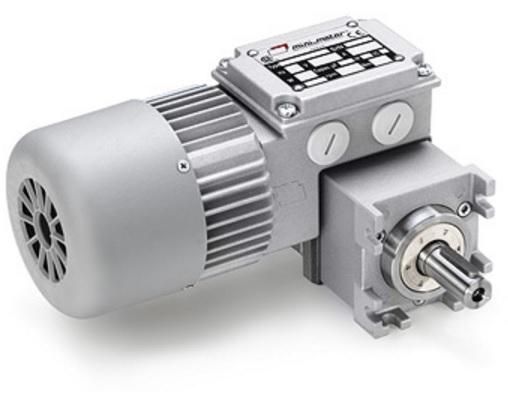 MCE WORM GEAR MOTOR WITH PLANETARY REDUCTION GEAR